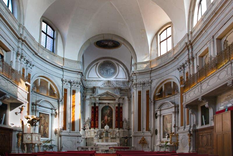 威尼斯教会联合Vivaldi,圣玛丽亚della圣母怜子图 图库摄影