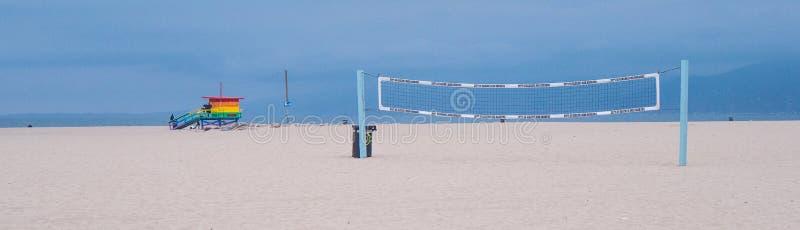 威尼斯海滩在加利福尼亚 库存照片