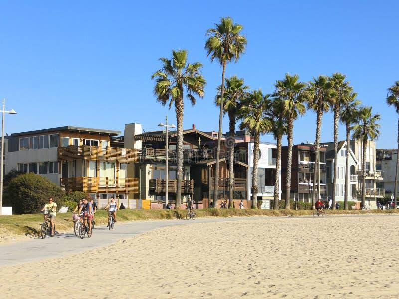 威尼斯海滩 免版税库存图片