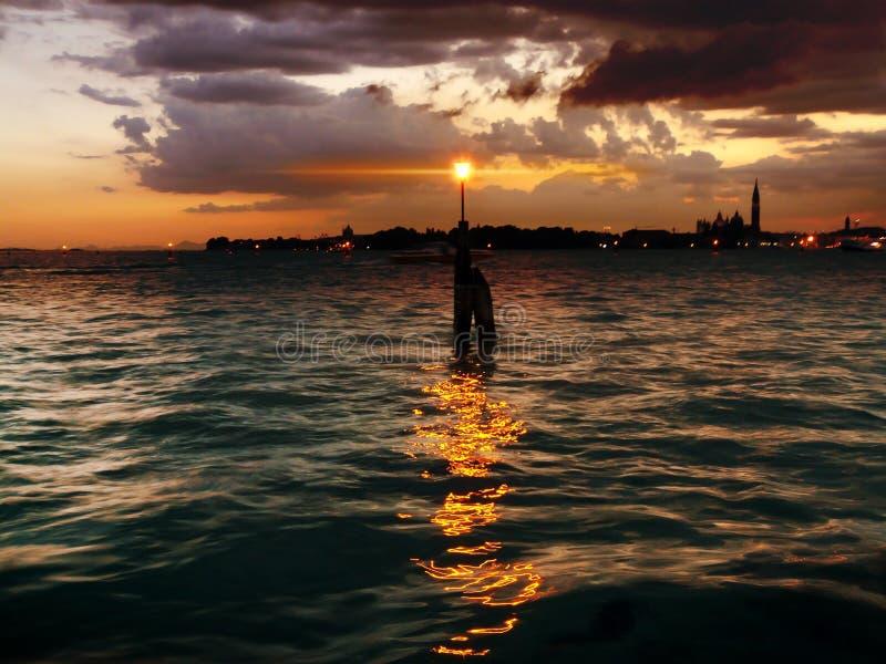 威尼斯灯笼  免版税库存照片
