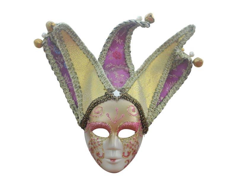 威尼斯狂欢节节日面具 库存照片