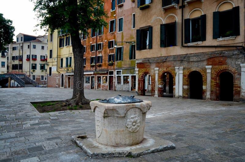 威尼斯,少数民族居住区诺沃 图库摄影