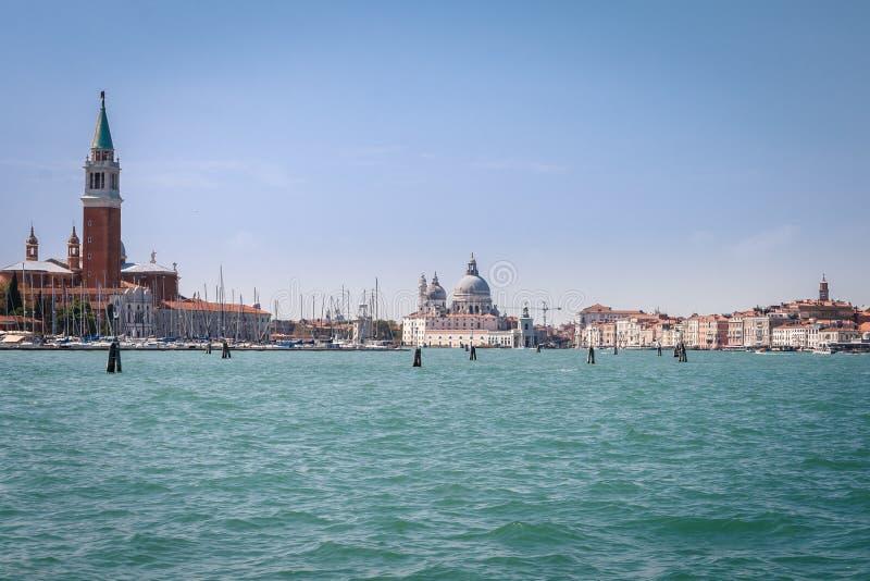 威尼斯,意大利地平线  免版税库存照片