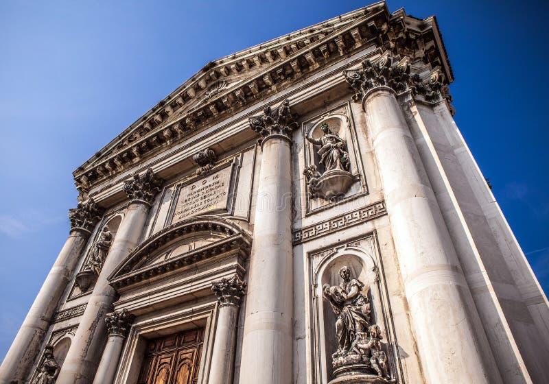 威尼斯,意大利- 2016年8月19日:著名威尼斯雕象&雕塑在历史名城北意大利2016 8月19日i 库存图片