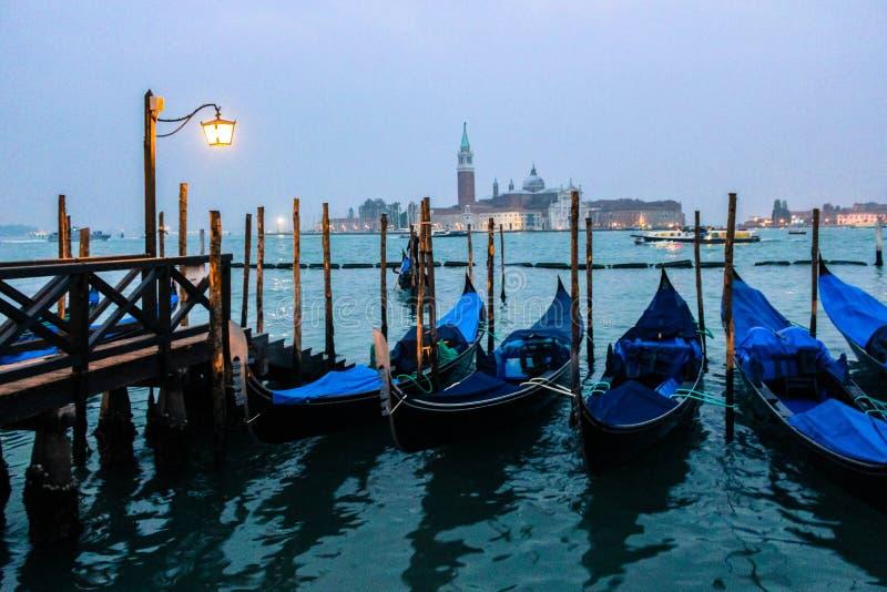 威尼斯:亚得里亚的女王/王后 库存照片