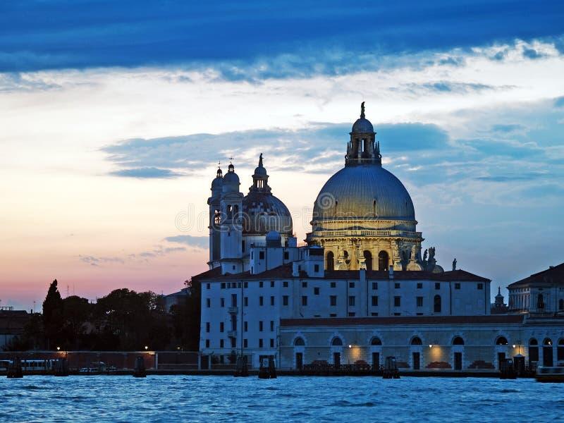 威尼斯:日落 图库摄影