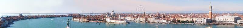威尼斯-全景 免版税库存图片