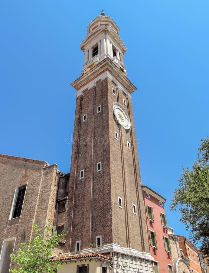 威尼斯-圣乔治东正教大教堂  库存图片