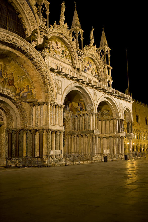 威尼斯(圣马克的大教堂) 库存照片