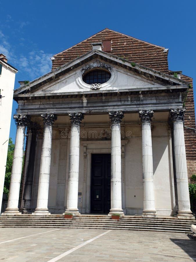 威尼斯-圣Nicola da托伦蒂诺 免版税库存照片