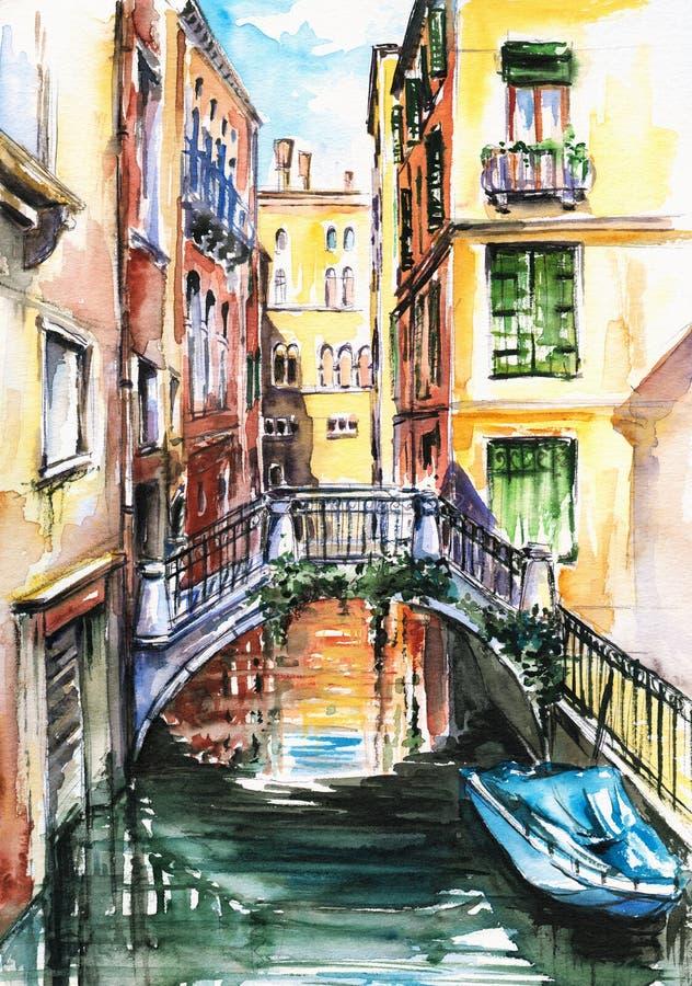 威尼斯 向量例证