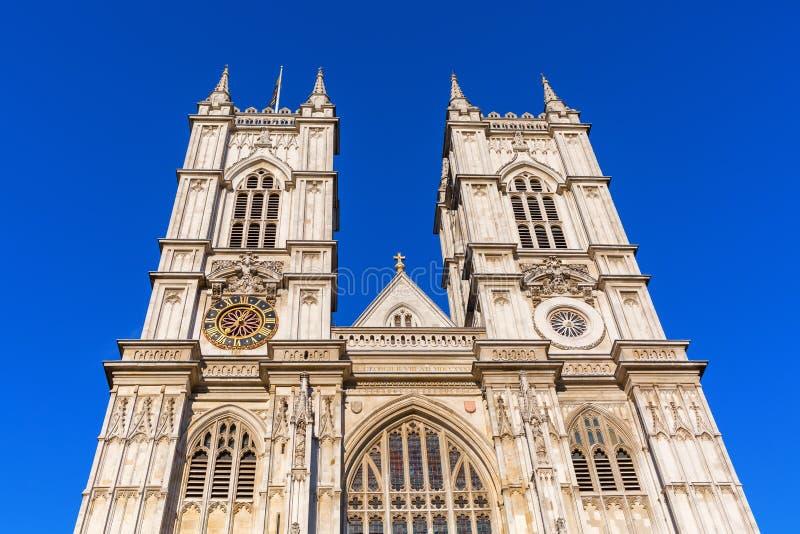 威斯敏斯特修道院在伦敦,英国 免版税图库摄影