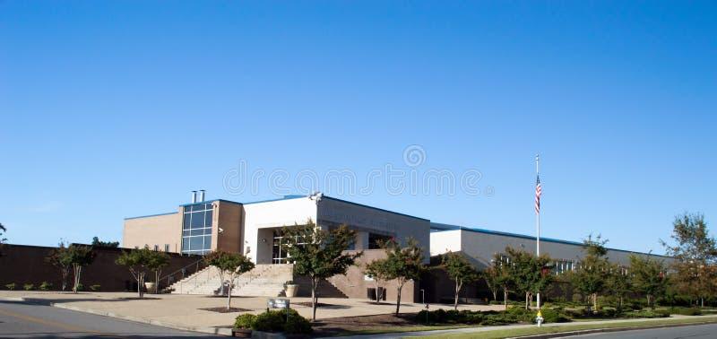 威明顿, NC美国8月26,2014 :威明顿警察局总部 库存图片