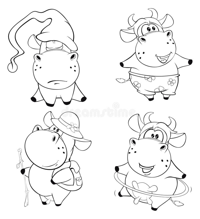 威胁愉快 夹子艺术 动画片 书五颜六色的彩图例证 皇族释放例证