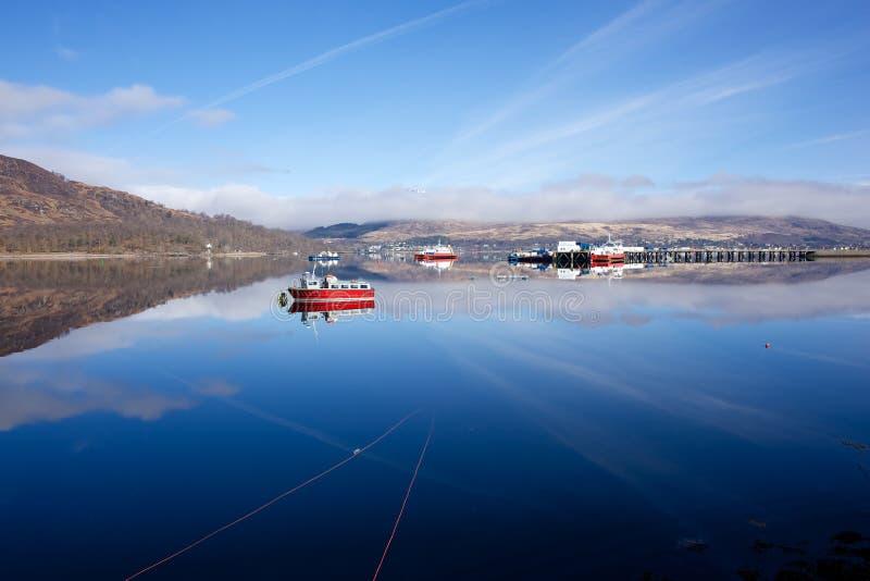 威廉堡苏格兰 免版税图库摄影