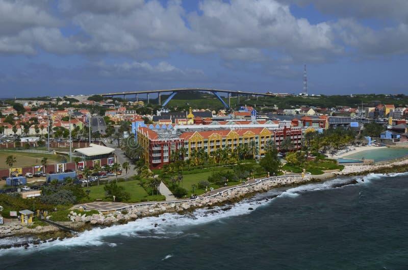 威廉斯塔德,库拉索岛 免版税库存图片