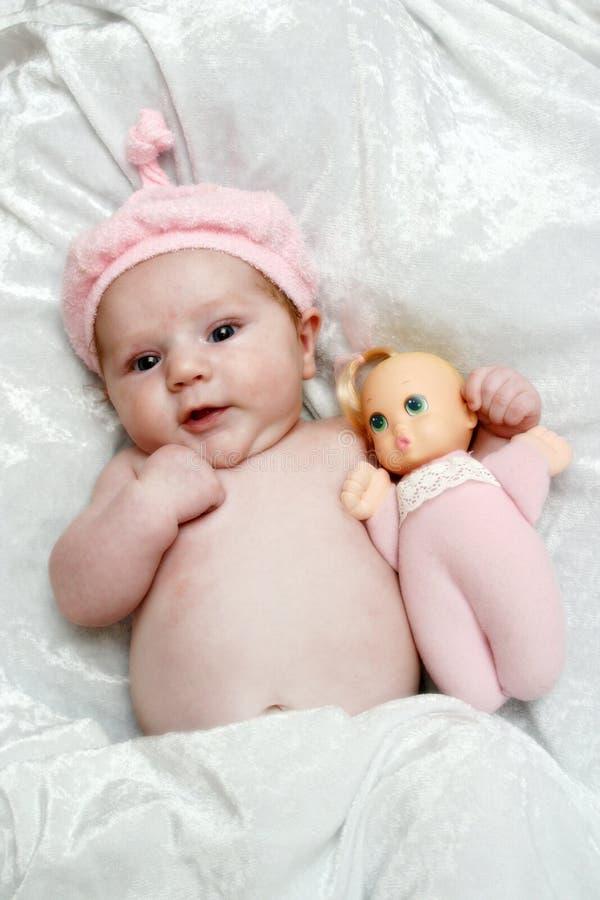 娃娃 库存图片