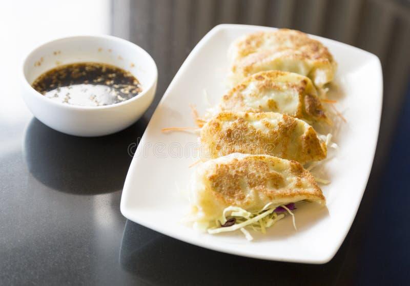 娇子队或gyoza,中国饺子 库存图片