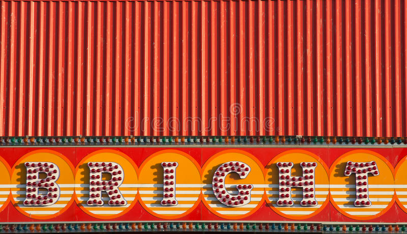 娱乐拱廊标志 免版税图库摄影