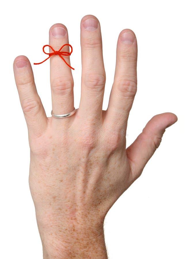 婚姻切记 免版税库存照片