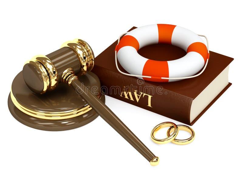 婚姻的协议 皇族释放例证