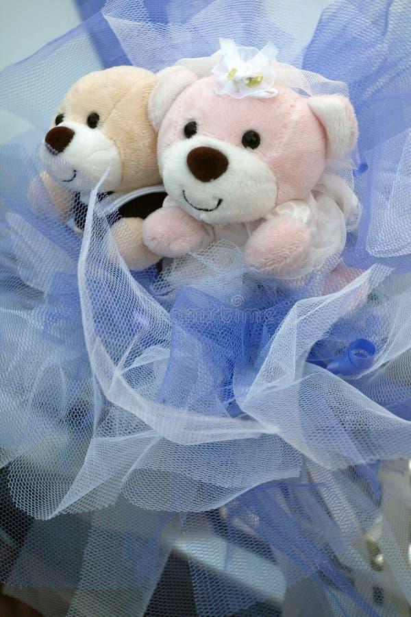 婚姻的熊 免版税图库摄影