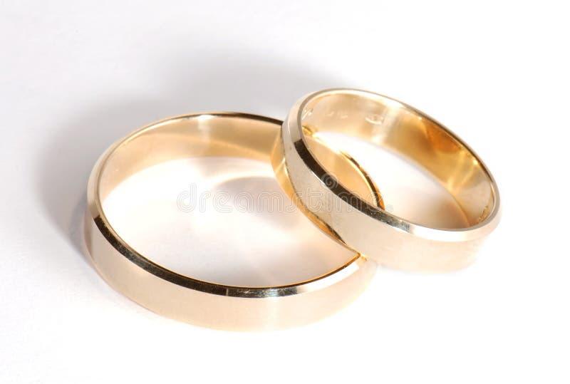 婚姻的环形二 库存照片