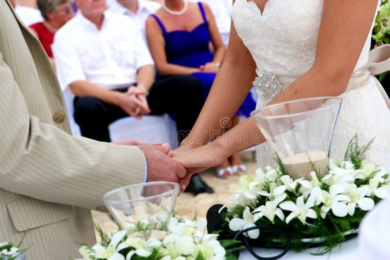 婚姻的誓愿 图库摄影