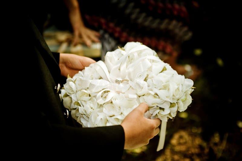 婚姻的详细资料 库存图片