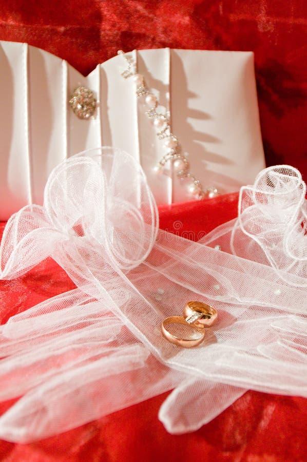 婚姻的辅助部件 库存照片