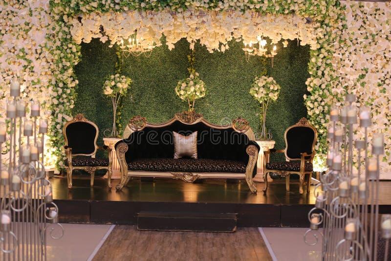 婚姻的阶段装饰在巴基斯坦 库存照片