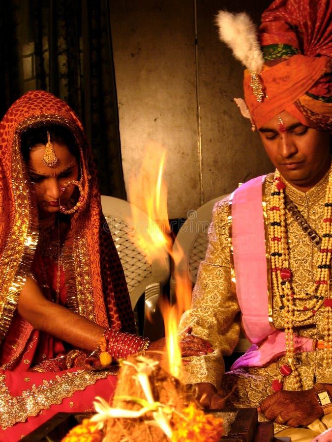婚姻礼拜式 库存图片