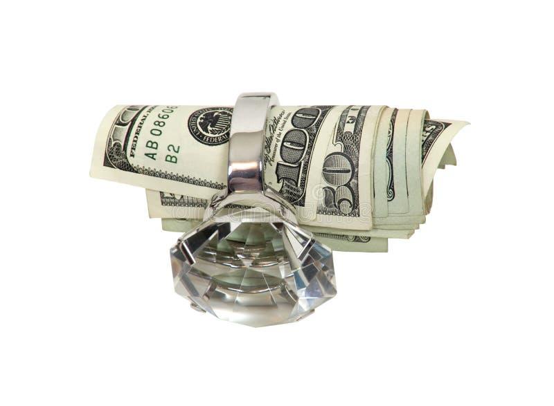 婚姻货币 免版税图库摄影