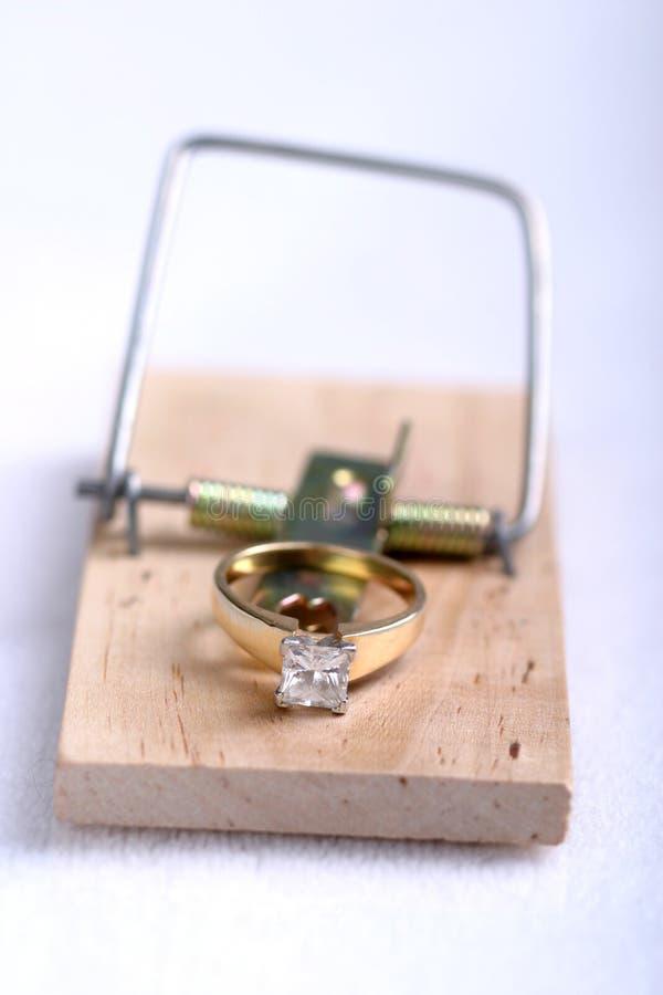 婚姻trap2 免版税库存照片