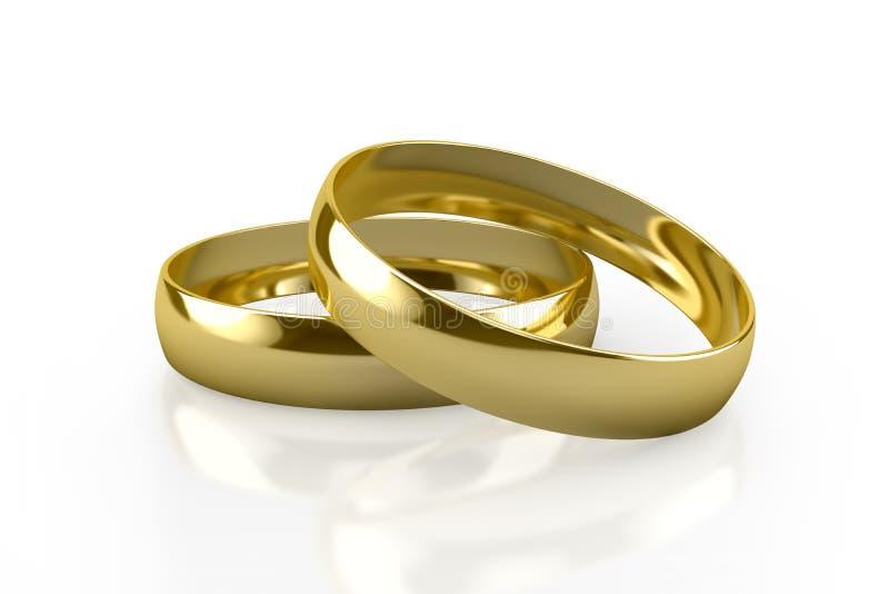 婚戒 皇族释放例证