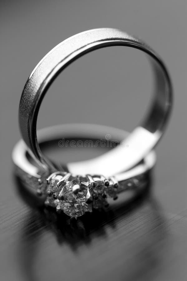 婚戒 免版税库存照片