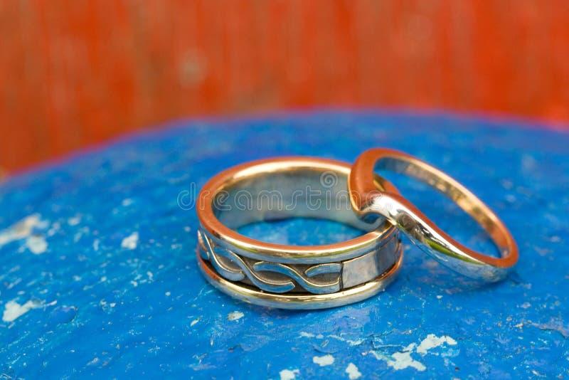婚戒 免版税图库摄影