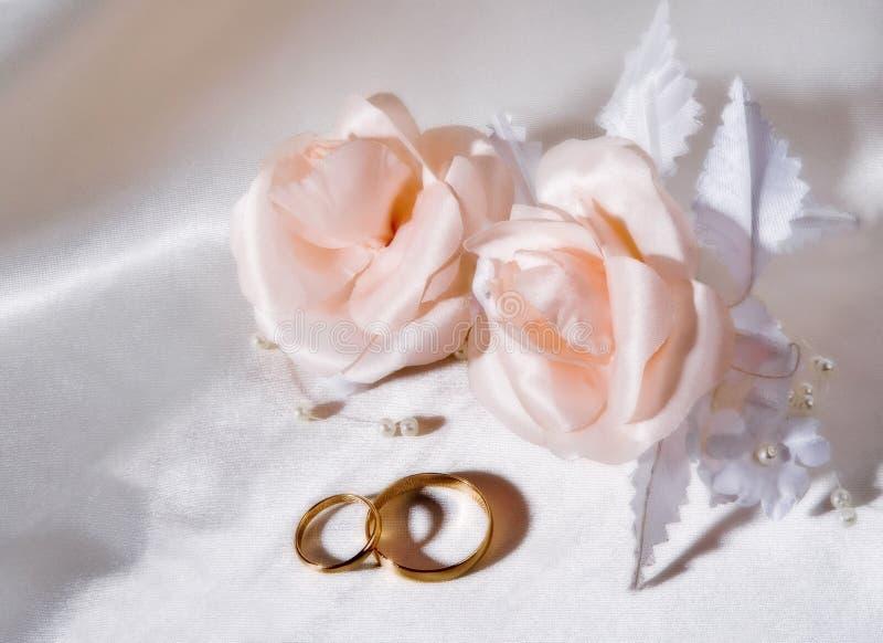 婚戒 图库摄影