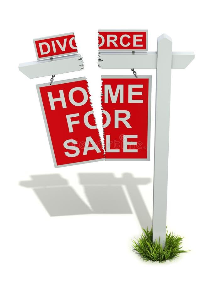 离婚概念 向量例证