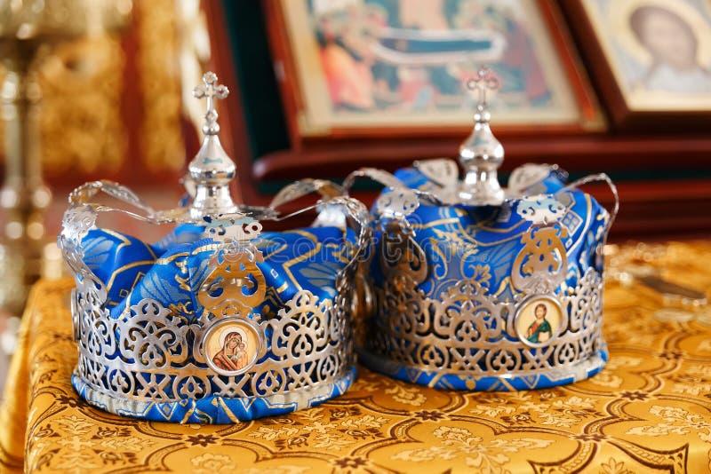 婚礼冠 库存图片