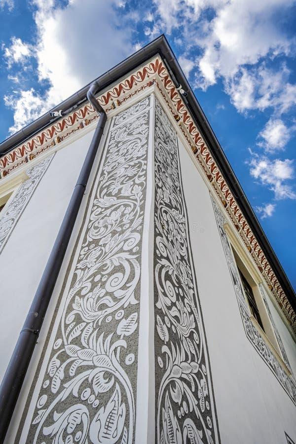 婚礼宫殿,比特恰,斯洛伐克,建筑题材 库存照片