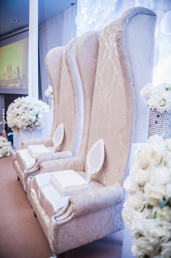 婚礼法坛 免版税库存照片