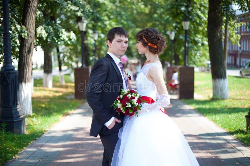 婚礼爱 免版税库存图片