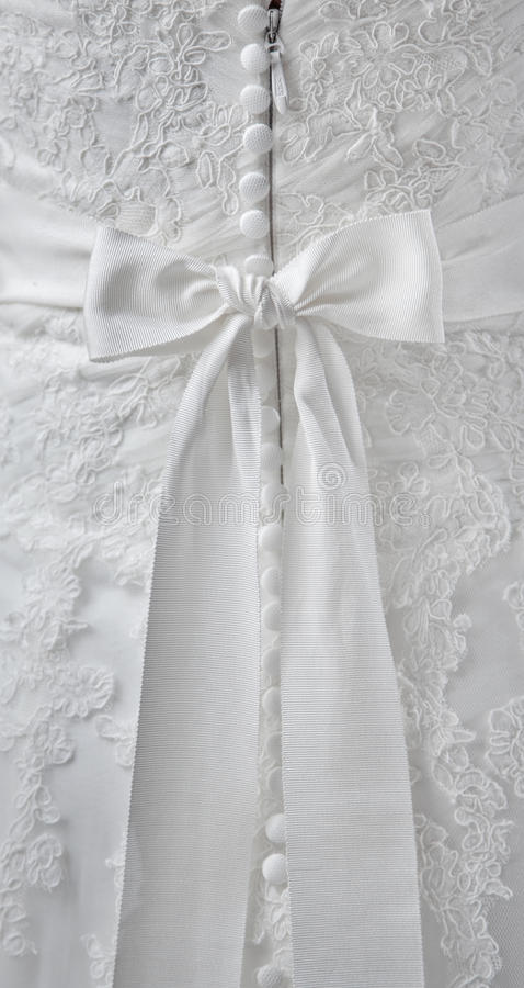 婚礼礼服细节  库存图片