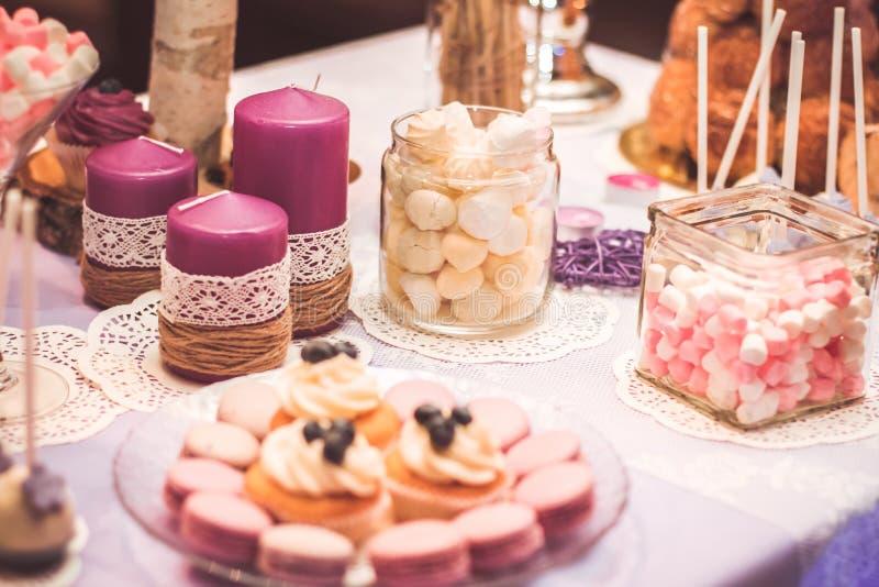 婚礼糖果 免版税图库摄影