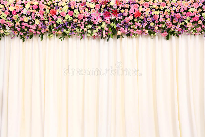 婚礼背景 库存照片