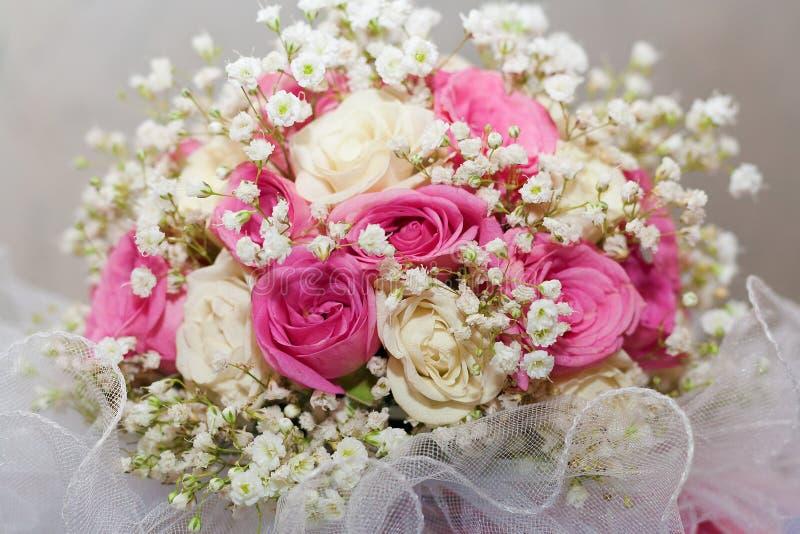 婚礼花束。 免版税库存图片