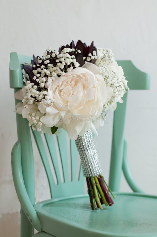 婚礼花束花 库存照片