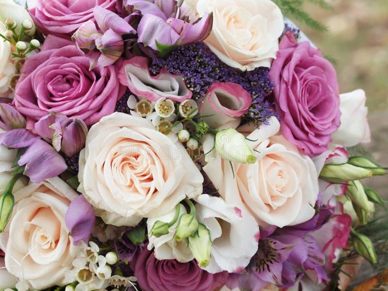 婚礼花束 免版税图库摄影