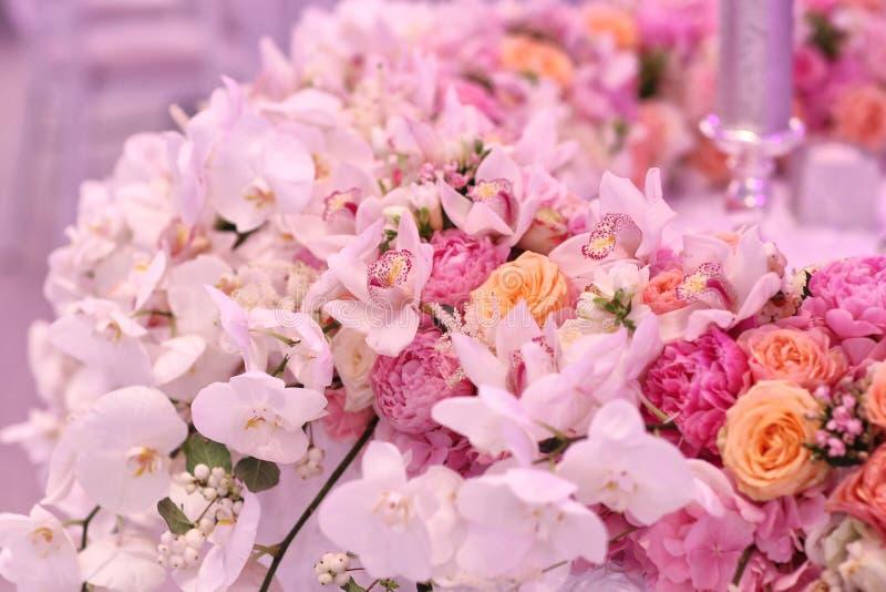 婚礼装饰花 库存照片
